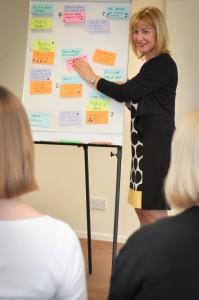 Gill Graves facilitating