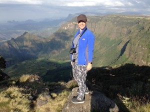 Gill on top of the world in Ethiopia